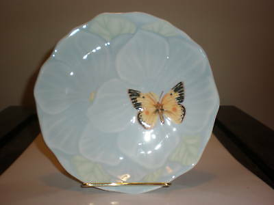 """Lenox Butterfly Meadow 7.5"""" Canape Plate Nwt"""