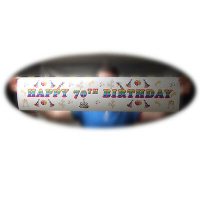 Personalised Party Banner~  Full Colour Any occasion