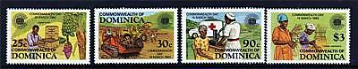 Dominica 1983 Commonwealth Day SG 844/7 MNH