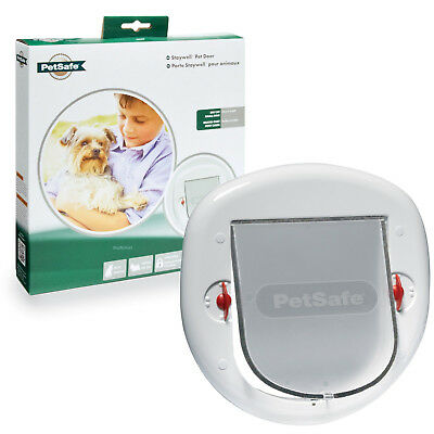 Staywell PetSafe 280 Large Big Cat Flap Small Dog Door Patio Glass or PVC TT