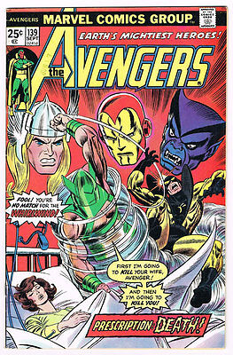 Avengers # 139 Prescription: Death!! Whirlwind!!