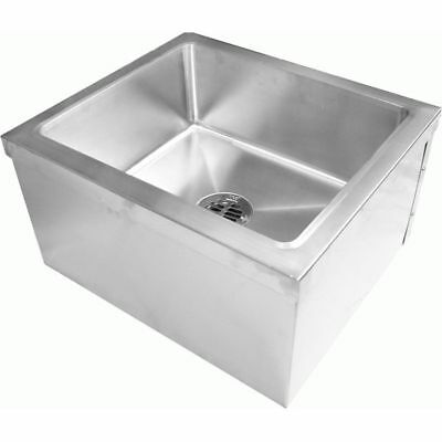 "Floor Mop Sink 24"" x 24"" Stainless Steel"