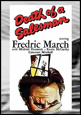 DEATH OF A SALESMAN - 1951 - Fredric March - NEW / SEALED / FREE SHIPPING