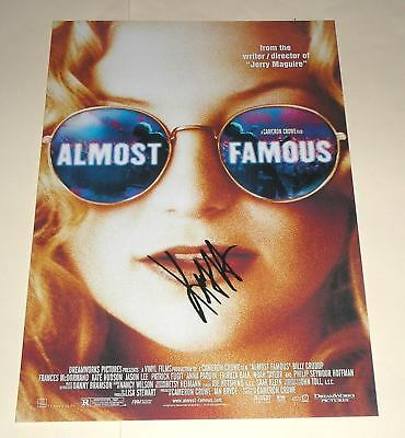 "Almost Famous Pp Signed 12""x8"" Poster Kate Hudson"