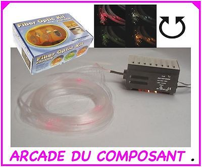 Kit De Cables A Fibre Optique Lumiere Multicolore