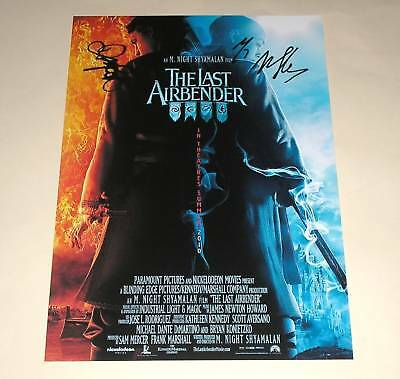 "The Last Airbender Pp Signed 12""X8"" Poster Dev Patel"