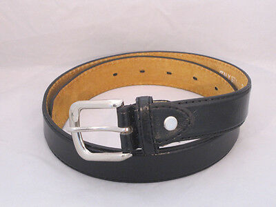 Kids Small Boys Belt Black New Rare Leather Small Size