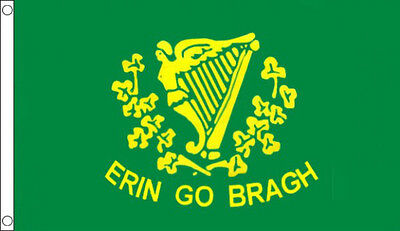 5' x 3' Erin Go Bragh Flag Irish Ireland For Ever Flags Banner