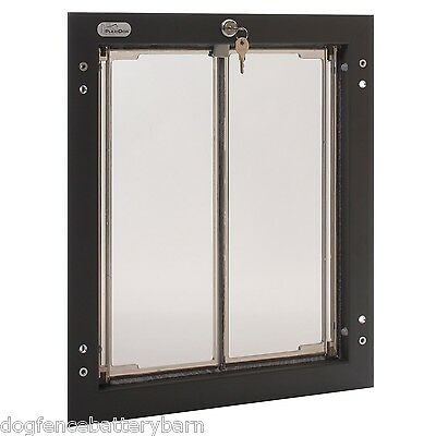 Plexidor Large Dog Door Unit Satin