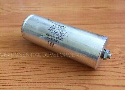 40uf CAPACITOR MOTOR RUN Universal 440v 40mfd  MADE  IN  UK.......1st CLASS POST