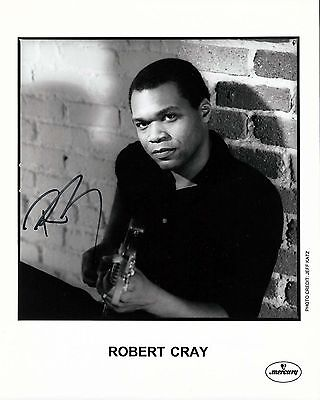 Robert Cray signed 8x10 publicity photo / autograph