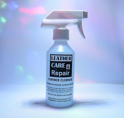 SUEDE LEATHER CLEANER - CAR SEAT / FURNITURE / SHOES - 250ml