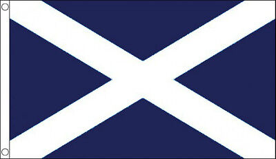 3' x 2' St Andrews Cross Flag Dark Blue St Andrew Scotland Scottish Banner