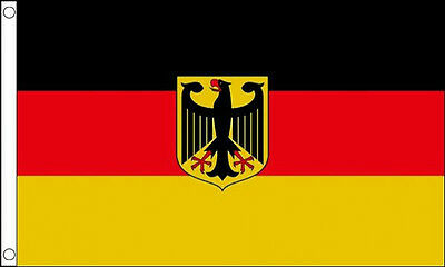 5' x 3' Germany State Eagle Flag German Flags Europe Banner
