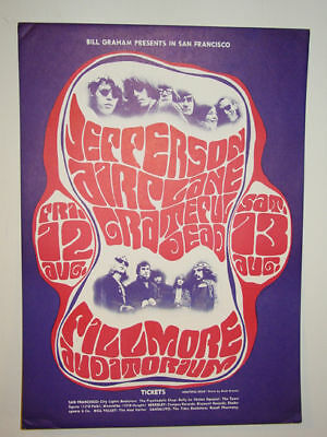 Jefferson Airplane/Grateful Dead- 1966 POSTER