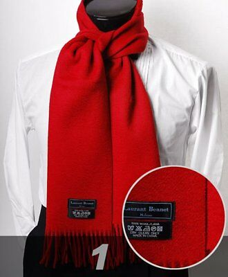 Solid Unisex HEAVY WOOL SCARF in 5 colors (HWS4707)