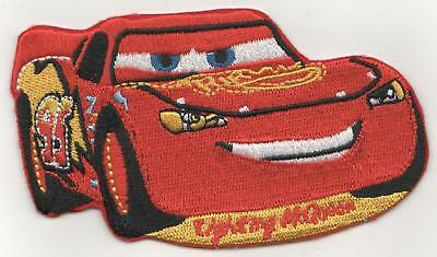 4inch CARS LIGHTNING McQUEEN IRON ON PATCH  BUY 2 GET 3