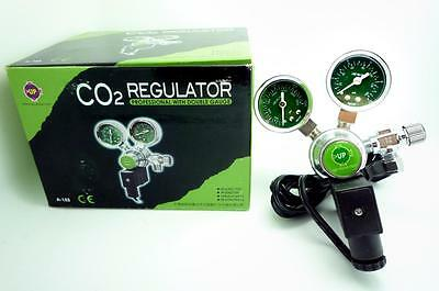 UP CO2 regulator two gauge solenoid magetic bubble counter planted aquarium