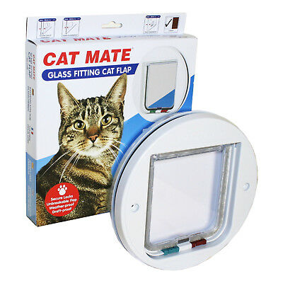Cat Mate Large Cat Flap For Glass
