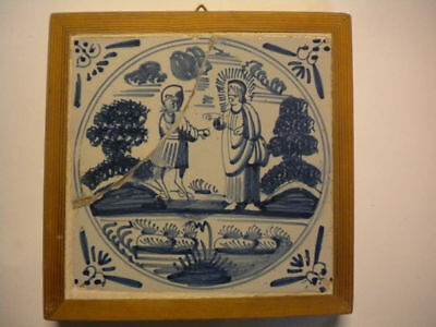 Dutch tile from the 1700 Century