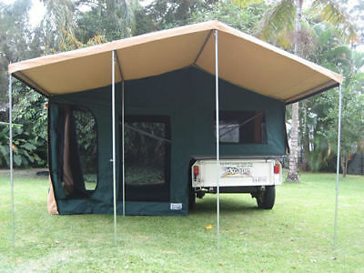 12 DAY OFF ROAD Camper Trailer HIRE RENTAL*CAIRNS to CAPE YORK QLD