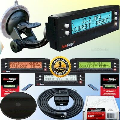 New Scan Gage Ii Scangauge Gauge Obd2 Guage Scanguage 2 Vehicle Computer Monitor