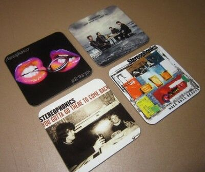 The Stereophonics Album Cover COASTER Set