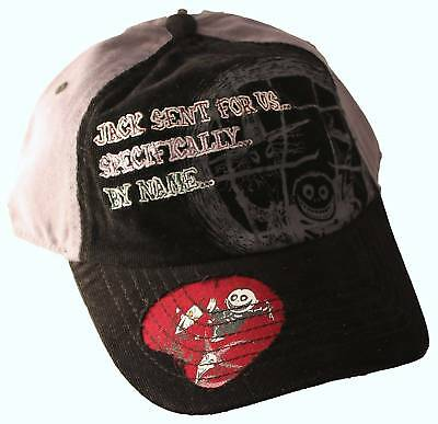 Disney's NIGHTMARE BEFORE CHRISTMAS CAP Lock Stock Collectible Hat Adult NEW