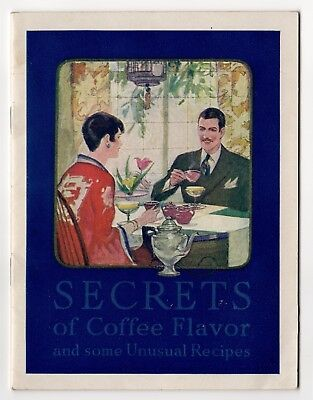 Maxwell House Coffee Recipe Pamplet (1927)
