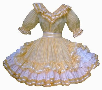 Suzi's Ruffles: Sweet Country: For Order