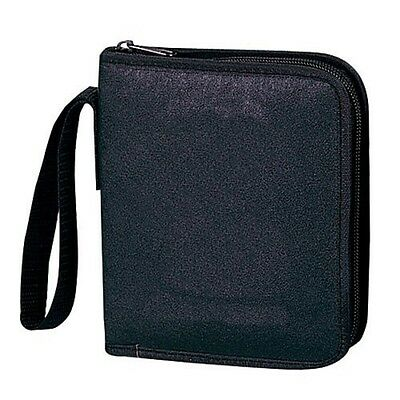 Leatherette 12-CD Holder, stores up to 12 disk w/protec