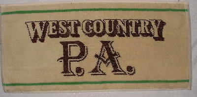 West Country P.A. - Bar Towel - New
