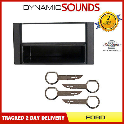 FP-07-09 CD Radio Stereo Surround Fascia Panel Adaptor For FORD Fiesta 2005> MK7