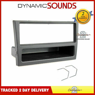 Car CD Stereo Radio Facia Fascia Adaptor Panel Surround Black For Vauxhall Corsa