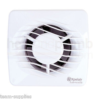 "XPELAIR LV100T 4"" LOW VOLTAGE EXTRACTOR FAN TIMER 100mm"