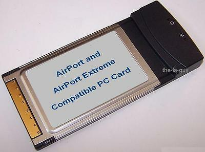 AirPort Extreme WiFi PCMCIA Card for Apple Mac PowerBook G3 G4 802.11g 11b 54g