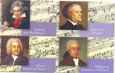 Alemania - Germany - Compositores - Composers - 365-Tarjetas Telefonicas