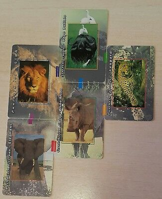 Sud Africa - South Africa - Los 5 Grandes-The Big 5 Puzzle Set - 700