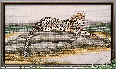 Cheetah Cross Stitch Chart