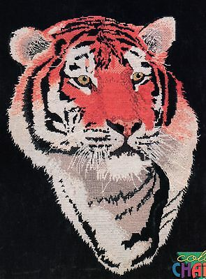 Tiger Cross Stitch Chart