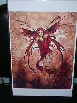 Amy Brown - Fire Element - SIGNED