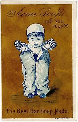 Victorian Trade Card for Acme Bar Soap