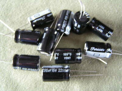Electrolytic Capacitor 2200uf 16V 105'C 10 pieces OL0636