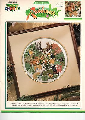 Rainforest Cross Stitch Chart