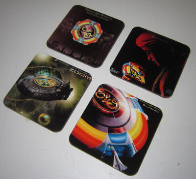 ELO Album Cover COASTER Set