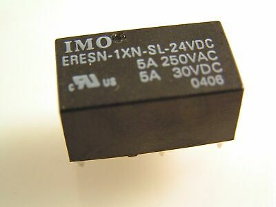 IMO ERESN-1XN-SL-24VDC 5A/250VAC Single Coil latching Relay ROHS 4No MBC008j