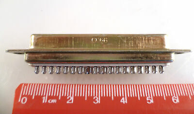 ITT Cannon ADC37S 37 Way D Type Socket Gold Contacts Solder Bucket OM0256