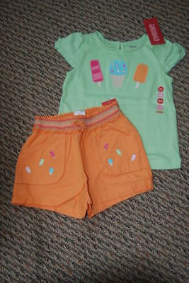 NWT Gymboree Popsicle Party Ice Cream T~Short 2 2T