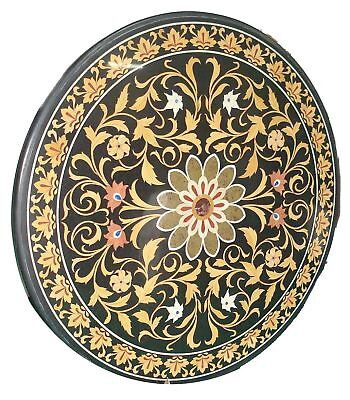 Indian Marble Table top/PietraDura/Plaque/Coffee/Center table Post 1940