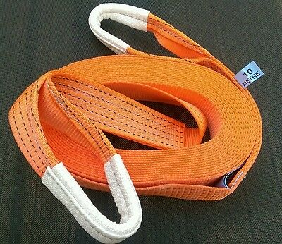 NEW 2M 4X4 RECOVERY WINCH TOW//TOWING ROPE STRAPS TREE STROP 5 TON WARN OFF ROAD